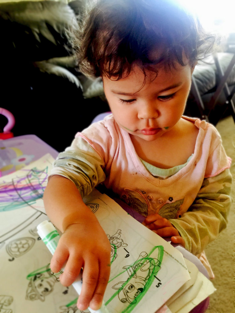 Toddler coloring milestones - Washable Crayons Markers Can Coloring Help Prepare Toddlers For Preschool New Aging Parents